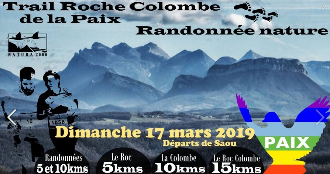 Trail Roche Colombe de la Paix