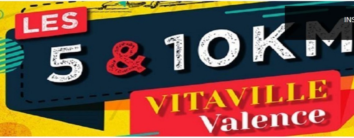 10 km Vitaville Valence (course route)