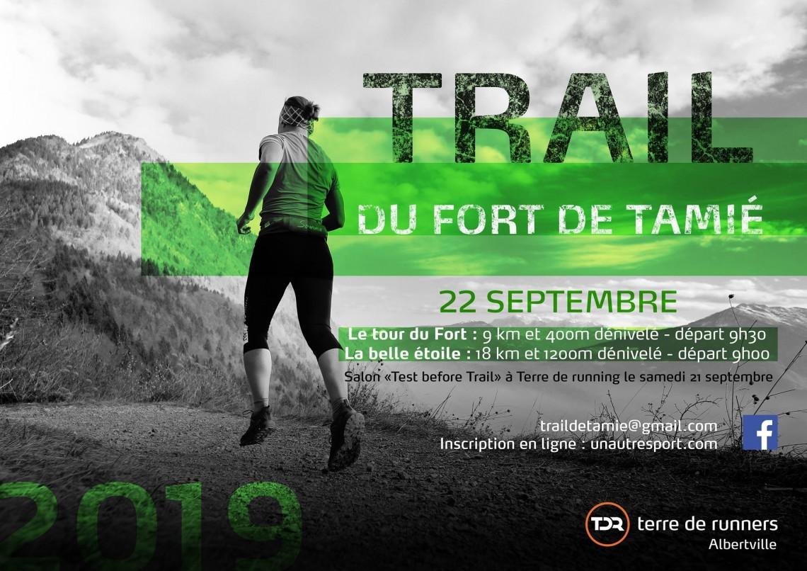 Trail du fort de Tamié