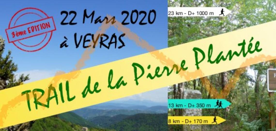 Trail de la Pierre Plantée