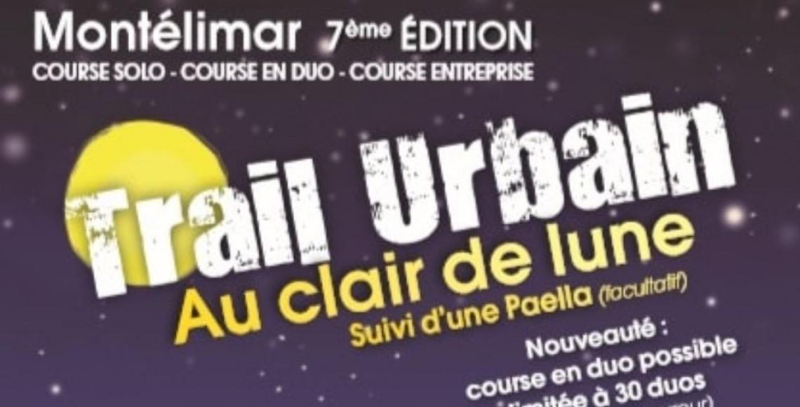 Trail urbain de Montélimar (nocturne)