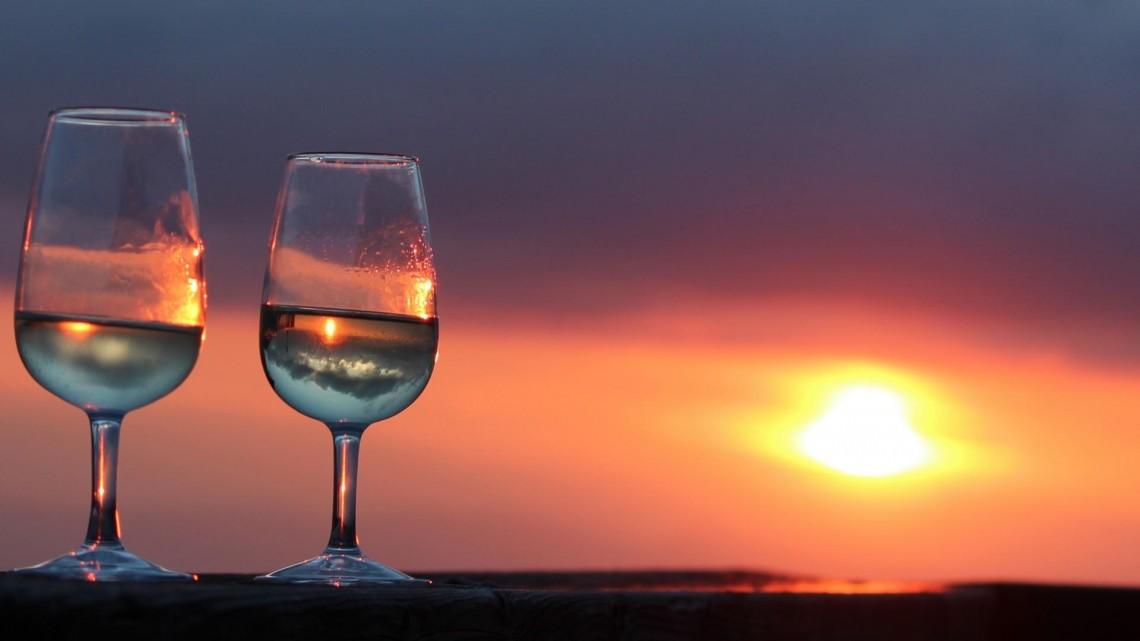GR1,5 sunset apero a la croix de la raye